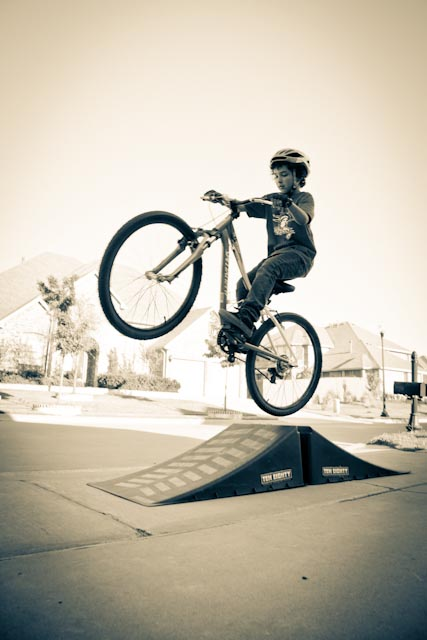 Bike Jumping Ramps Caleb